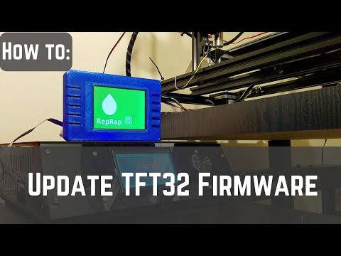 How to Update TFT32 Firmware - YouTube