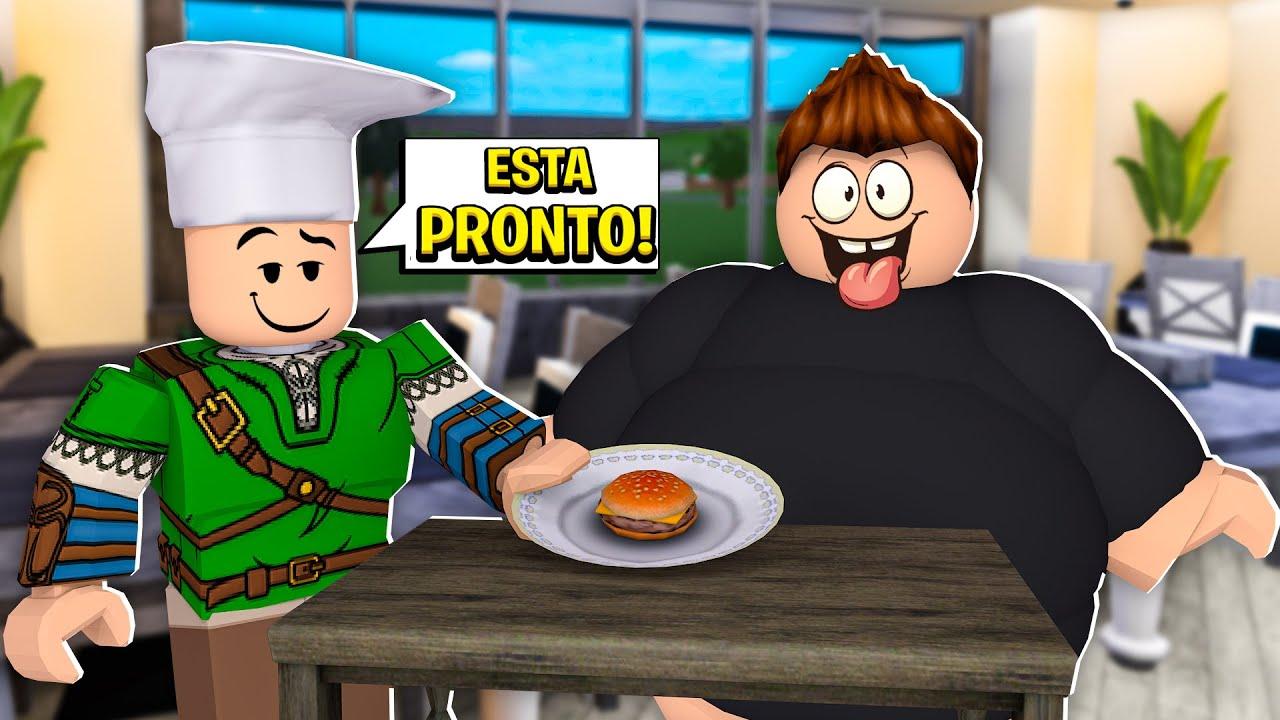 VIREI COZINHEIRO NO MEU NOVO RESTAURANTE DO ROBLOX!! (My Restaurant Tycoon)