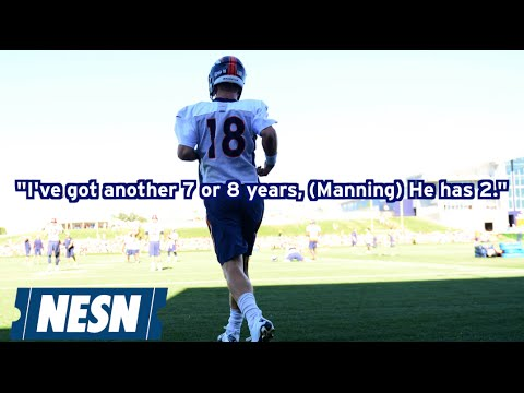 Peyton Manning Says Tom Brady Apologized To Him Over Text
