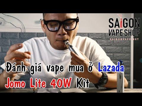 Đánh giá Vape Jomo Lite 40W mua trên Lazada có tốt không?