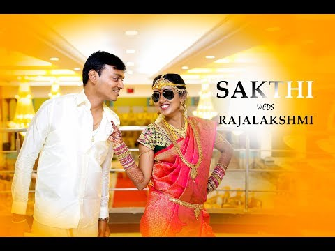 Highlights Of Sakthi & Rajalakshmi Candid Cinematic Wedding Video By Varnajalam Medias
