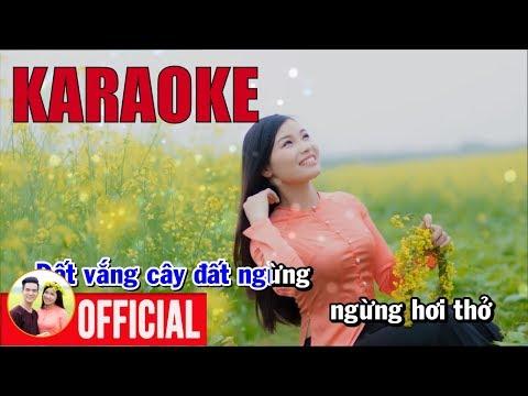 Tình Cây Và Đất KARAOKE - Song Ca Karaoke Bùi Thị Thúy Hữu Tuấn