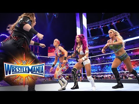 Thumbnail: Raw Women's Title Fatal 4-Way Elimination Match: WrestleMania 33 (WWE Network Exclusive)