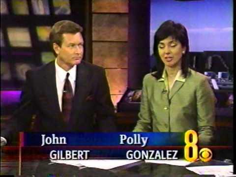 6/3/2002 Polly Gonzalez and John Gilbert June 3 2002 KLAS-TV Ch. 8, Las Vegas, Eyewitness News(cast)