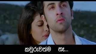 Oba Gena Thathu ► Nadee Kasun Gamage Track of Audio Mix with Video Teack of Tujhe Bhula Diya 1080p..