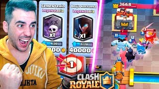 test harness of the ghost world 1! | Clash Royale | Rubinho vlc