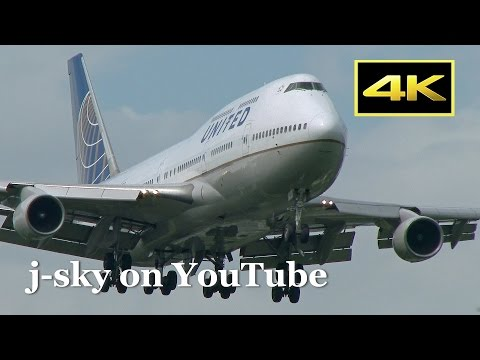 [4K] Boeing 747 Selection - 14 Airlines Plane Spotting at To