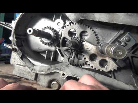 how to change a crank bearing on a boat motor