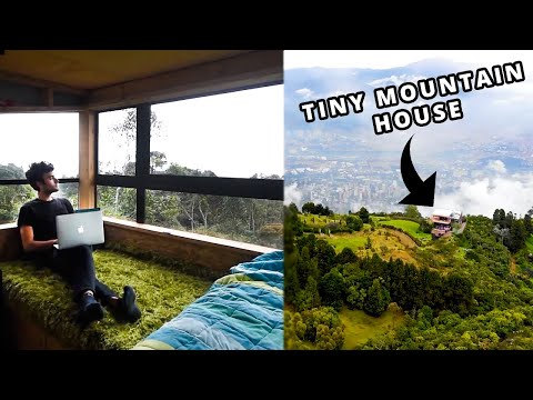 Living Cheap - Tiny House Tour ($400/month)!