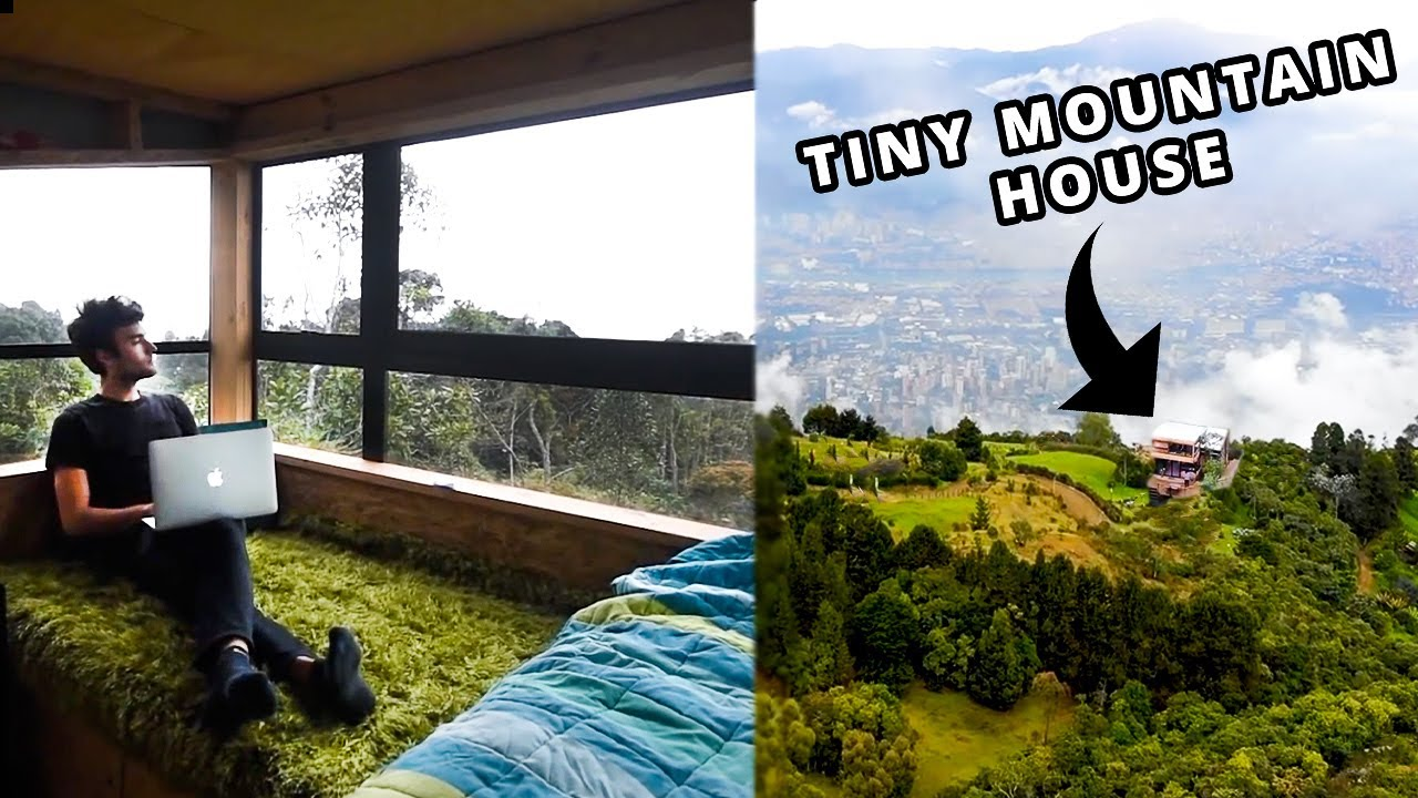 Living Cheap - Tiny House Tour ($400/month)!