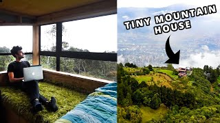 My Tiny Home In The Mountains Of Colombia  Full Tour