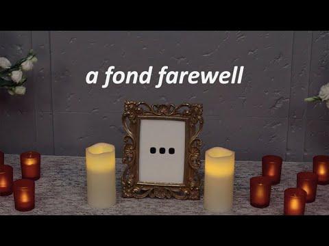 Dot Dot Dot: A Fond Farewell...