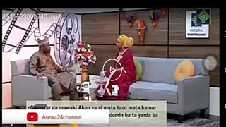 Sabuwar Hirar Rahama Sadau A Arewa 24 Da Aminu Momo