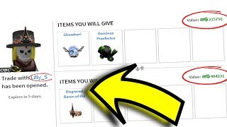 Trading Roblox ADMINS! *BIG TRADES COMPLETED!*