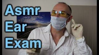 ASMR Dr Dmitri Ear Examination Role Play