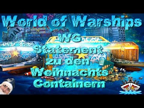 """""""WG"""" Statement zu dem WeihnachtsCHAOS in World of Warships auf Deutsch"""