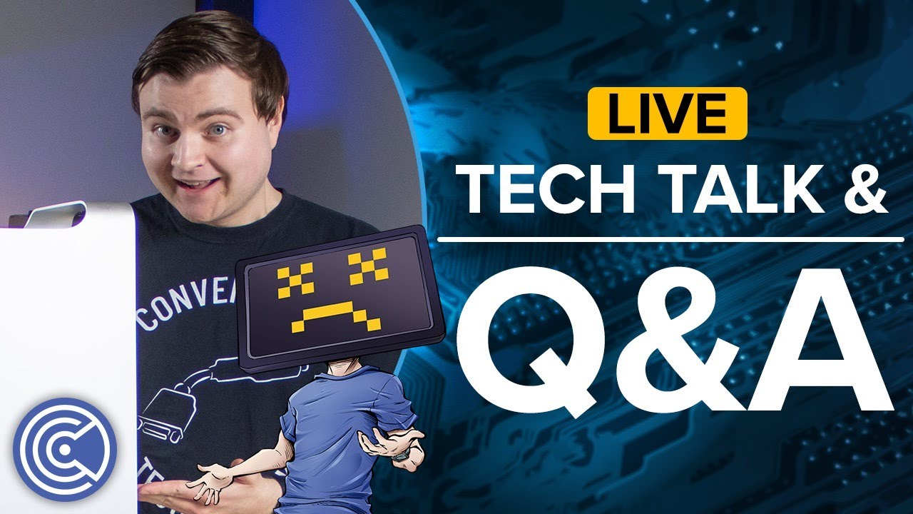 Come and Hangout! Tech Talk and Q&A with (Krazy) Ken - Computer Clan Live