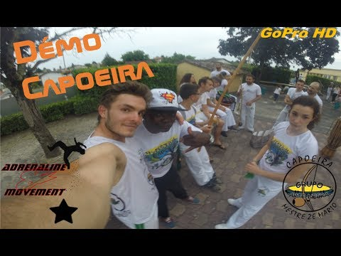 Dernière démo de Capoeira à Bordeaux !! Asso Quilombo Vivo - Groupe Arte Negra Bordeaux