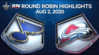 NHL Highlights | Blues vs. Avalanche - Aug. 02, 2020