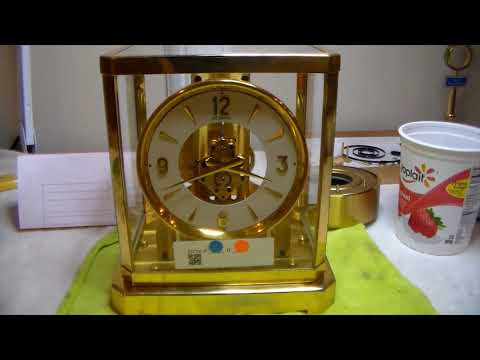 How To Service Your Jaeger LeCoultre Atmos Clock