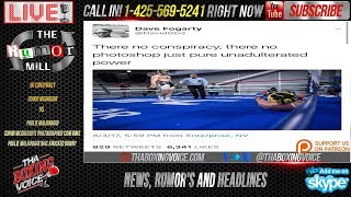 Conor McGregor's Photographer Says Malignaggi Was Knocked Down,