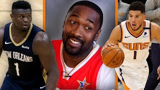 """How Does Zion Get Picked Before Devin Booker?!"" Gilbert Arenas Reacts To NBA All-Star Rosters"
