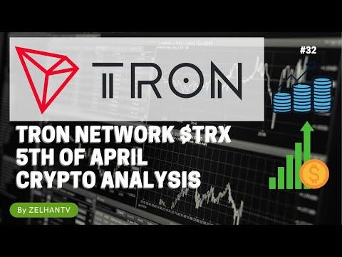 TRON network TRX Crypto MARKET ANALYSIS 5 APRIL 2021 CRYPTO
