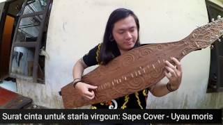 Gambar cover Surat Cinta Untuk Starla Virgoun Sape Cover alat musik tradisional Kalimantan