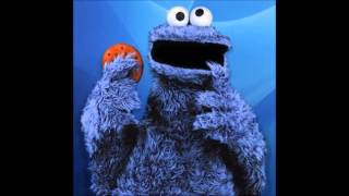 cookie monster did it all for the cookie