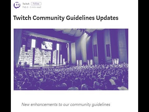 [02.09.18] Avoiding the Podcast: Twitch's new Terms of Service