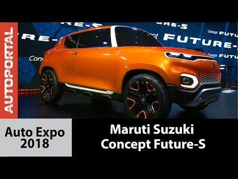 Maruti Suzuki Concept Future S at Auto Expo 2018 - Autoportal