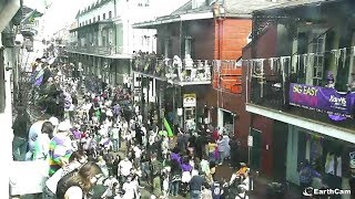 EarthCam Live: Mardi Gras in New Orleans