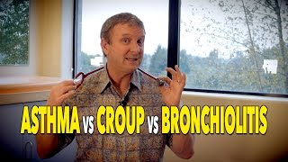 The Difference Between ASTHMA, CROUP, & BRONCHIOLITIS | Dr. Paul