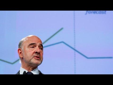 EU Lowers Eurozone 2020 Growth Forecast