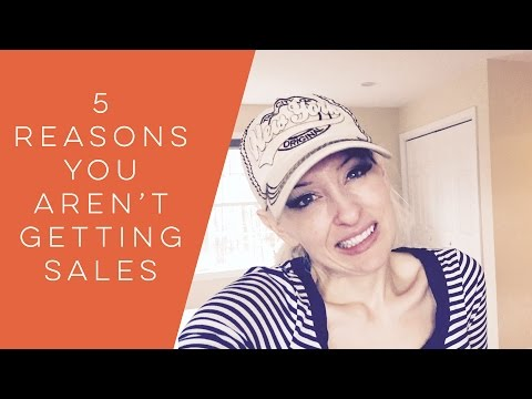 5 Reasons You Arent Making Sales - how to start an etsy shop - www.etsy.com
