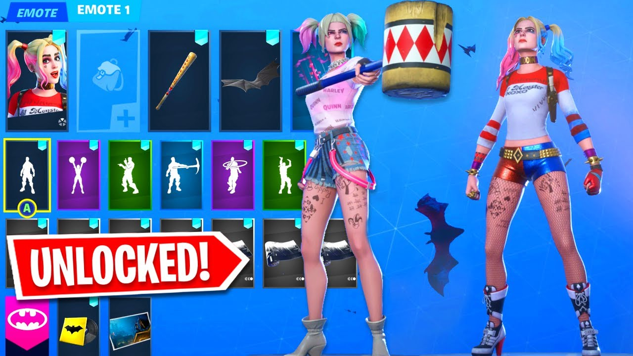 Fortnite New Update Love And War Challenges Free Rewards Search And Destroy Harley Quinn Skin Youtube