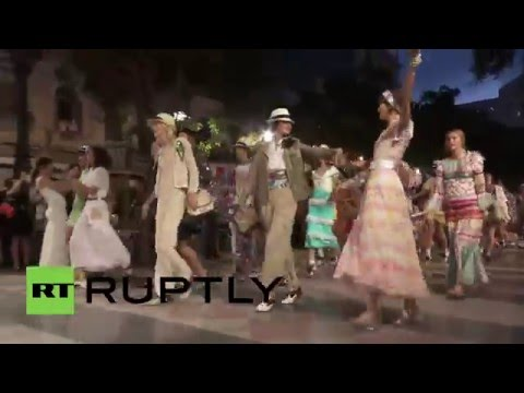 Cuba: Chanel stages historic fashion show in Havana