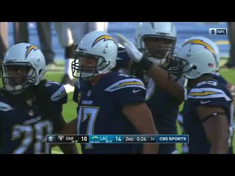 """Philip Rivers 2017 Highlights 