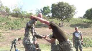 Philippine, US Marines conduct close quarters combat / martial arts