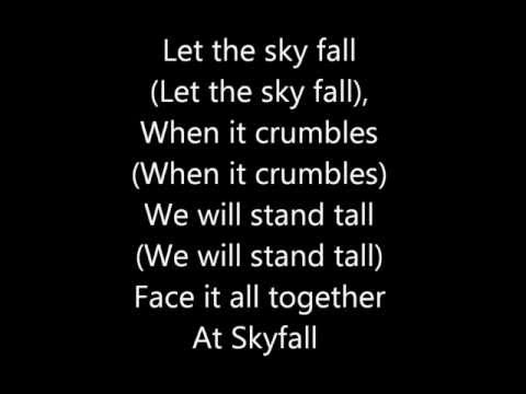 Adele Skyfall - Lyrics (James Bond Theme)