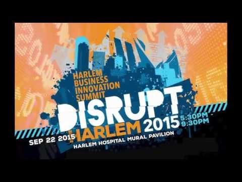 Disrupt Harlem Summit 2015 - Keynote - Jessica O. Matthews