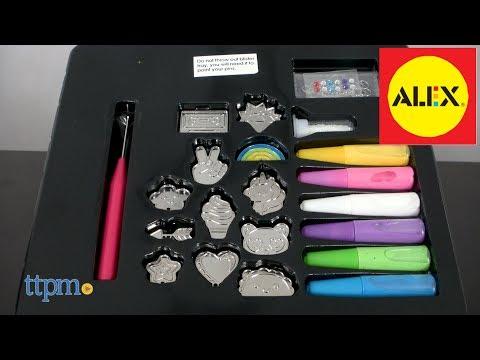 D.I.Y Paint & Wear Enamel Pins from Alex