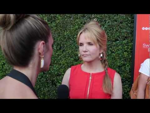 "Lea Thompson Interview - ""Switched at Birth"" Book Release"