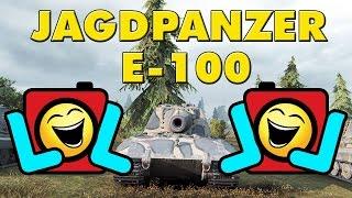 World of Tanks Epic LOL Ending - Jagdpanzer E-100 - 8 Kills - 8.9K Damage