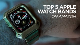 Gambar cover Top 5 Apple Watch Bands on Amazon