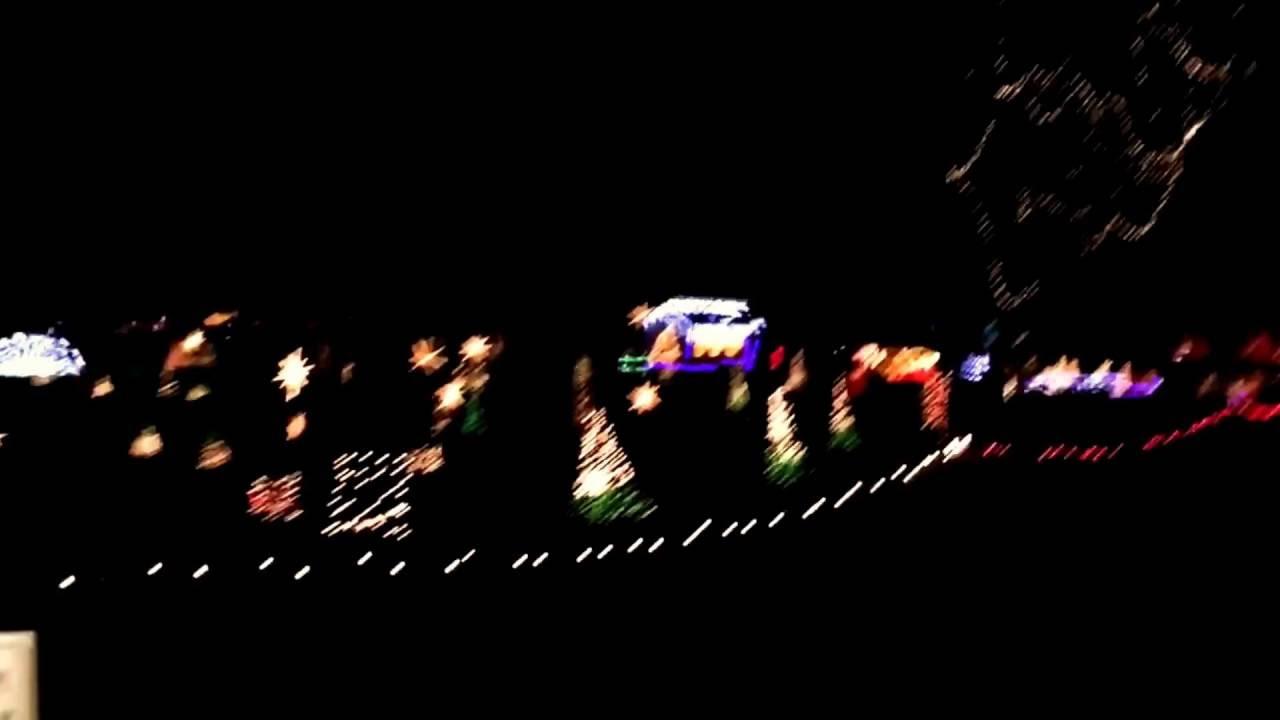 Tilles Park Christmas Lights - YouTube
