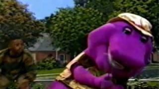 Barney Wit Attitude - Straight Outta Compton (Wide)