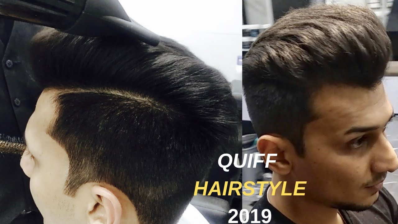 Mens Thin Hair Haircut Hairstyle Tutorial 2019 Quiff Hairstyle For Indian Men Guys
