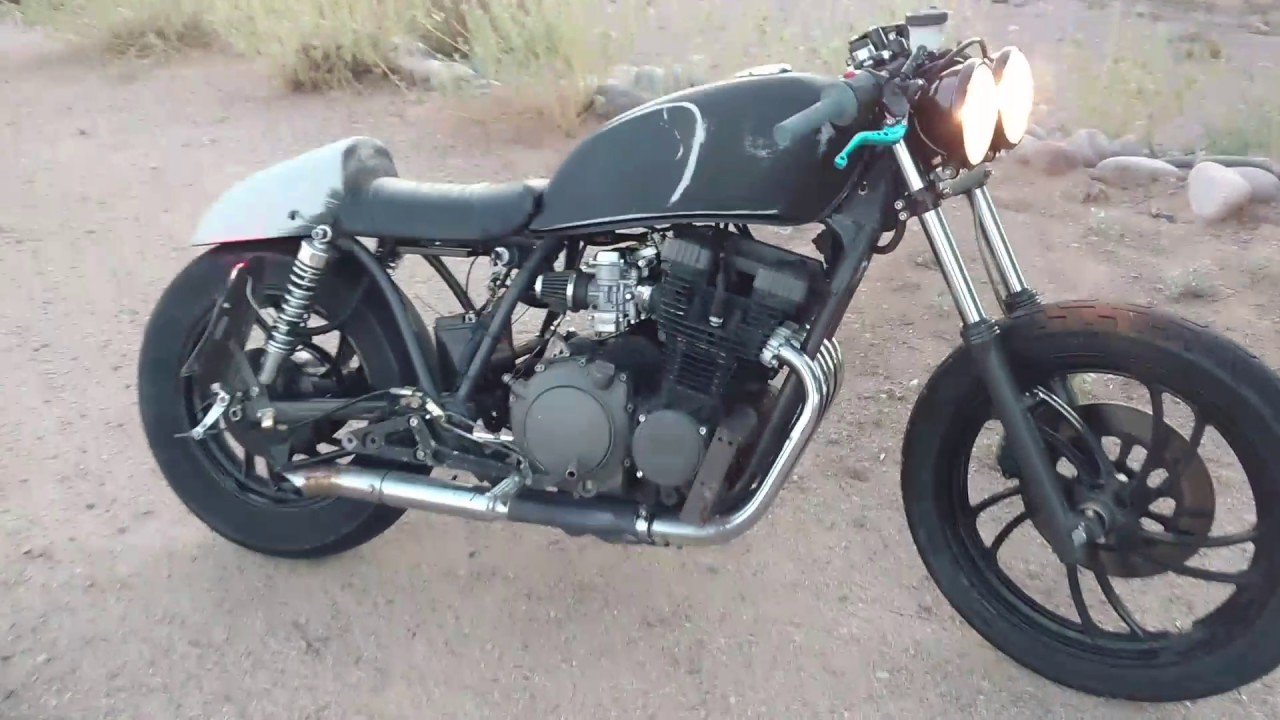 my custom 1982 xj-750 cafe racer - youtube