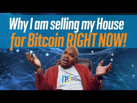 Why I Am Selling My House For Bitcoin RIGHT NOW!!!!!!!!!! Live Stream.